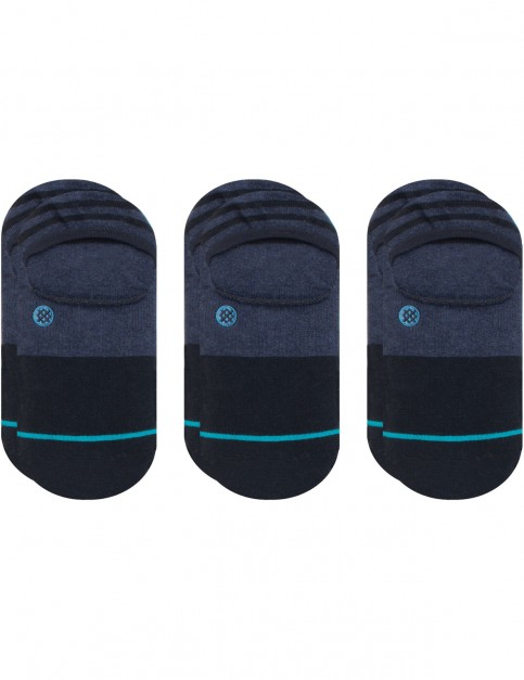 Stance Gamut 3 Pack No Show Socks in Navy
