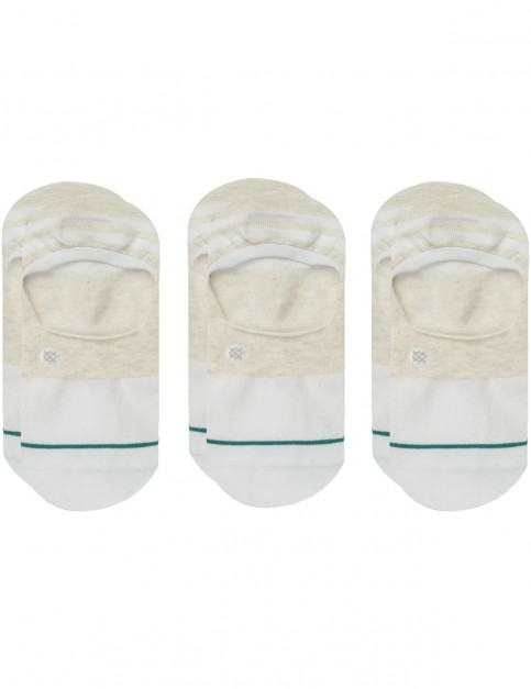 Stance Gamut 3 Pack No Show Socks in White