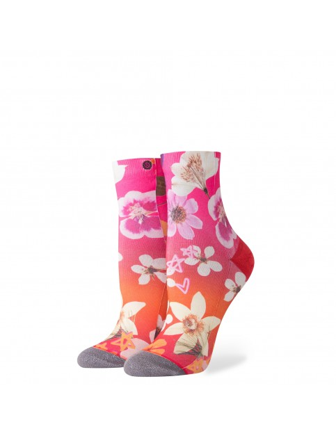 Stance Garden Goddess Ankle Socks in Pink