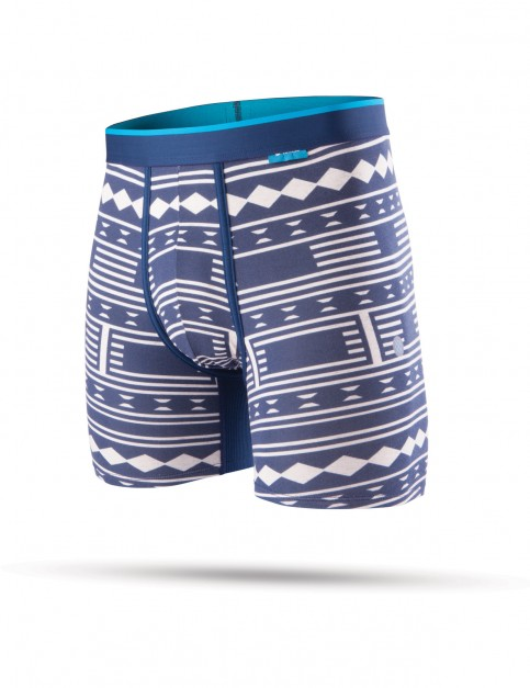 Stance Geo Break Underwear in Navy