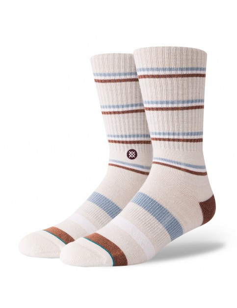 Stance Glass Crew Socks in Natural