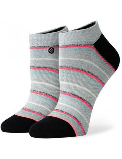 Stance Glisten No Show Socks in Grey