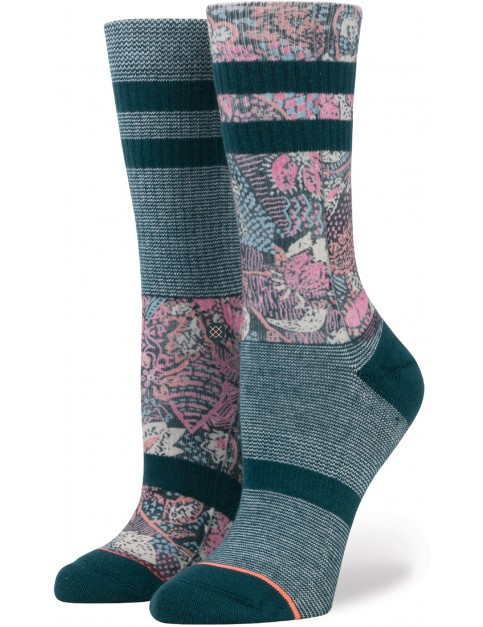 Stance Go East Socks in Teal