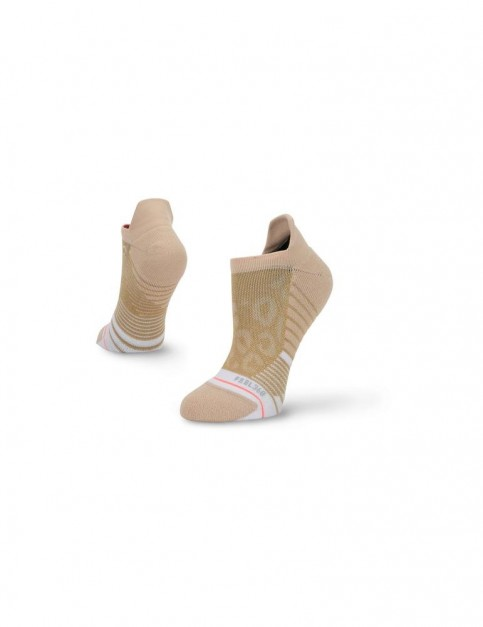 Stance Golden Cheetah Tab No Show Socks in Gold