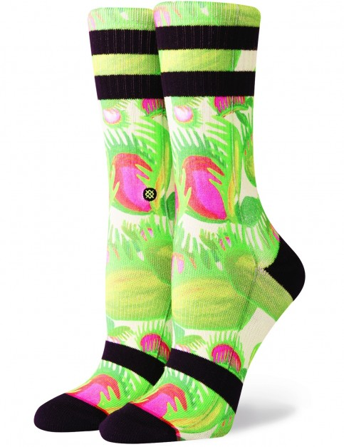 Stance Gotcha Crew Socks in Green