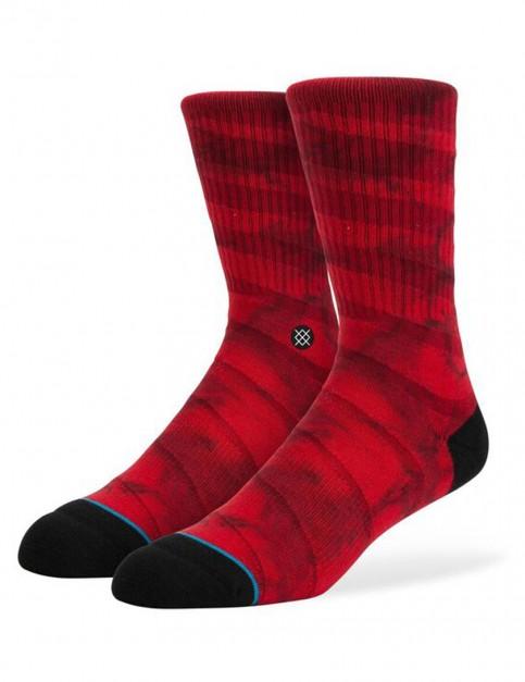 Stance Grader Socks in Red