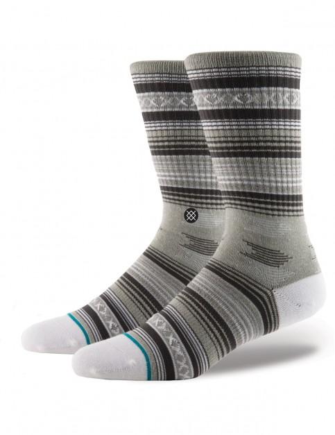 Stance Guadalupe Crew Socks in Grey