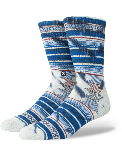 Stance Guadalupe Crew Socks in Heather Grey