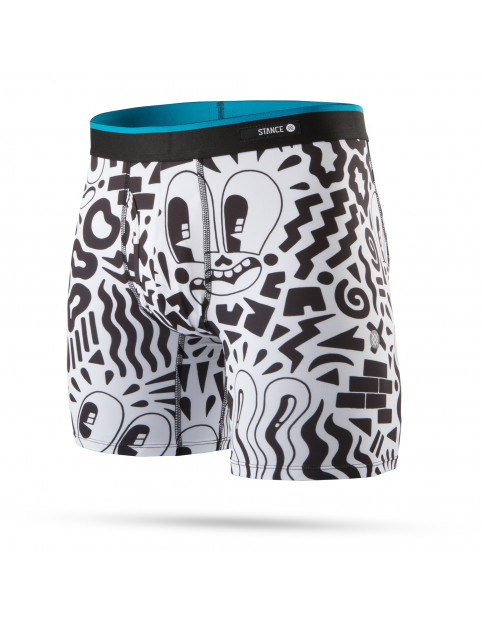 Stance Hattie Boxer Brief Underwear in Black