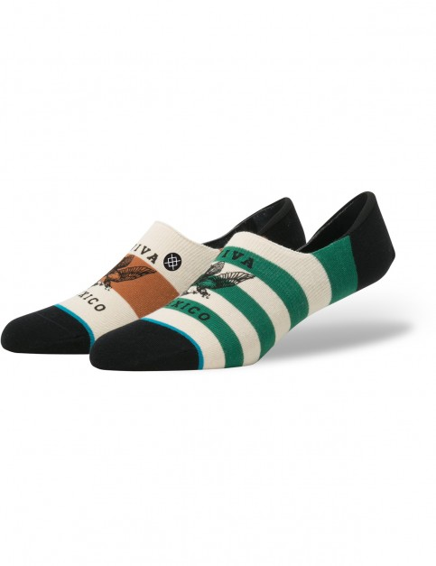 Stance Hecho Low Crew Socks in Brown