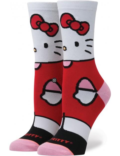 Stance Hello Kitty Crew Socks in White