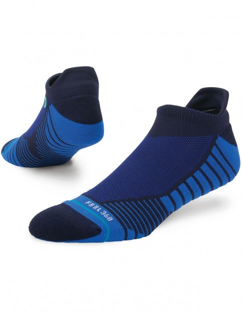 Stance High Regard Tab No Show Socks in Navy