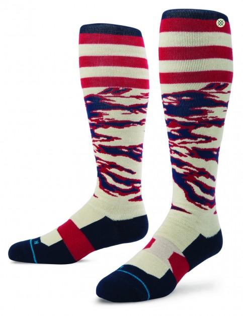 Stance Homewood Snow Socks in Tan