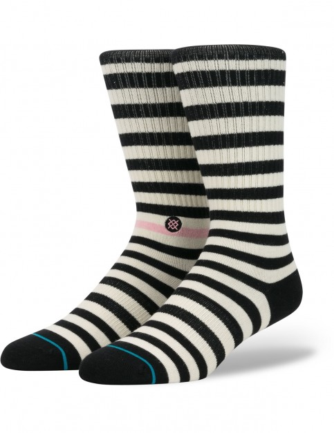 Stance Honey Crew Socks in Black