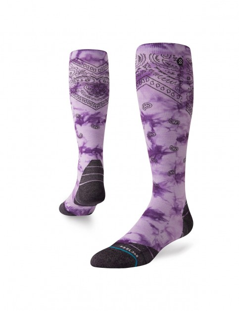 Stance Honshu Snow Socks in Lavender