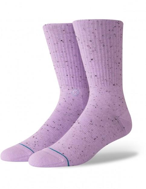 Stance Icon 2 Crew Socks in Violet