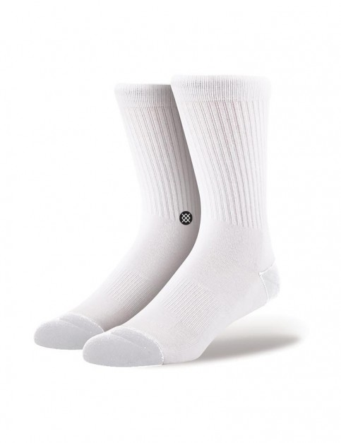 Stance Icon 3 Pack Crew Socks in White
