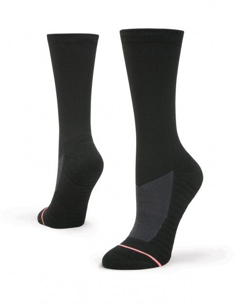 Stance Icon Crew Crew Socks in Black