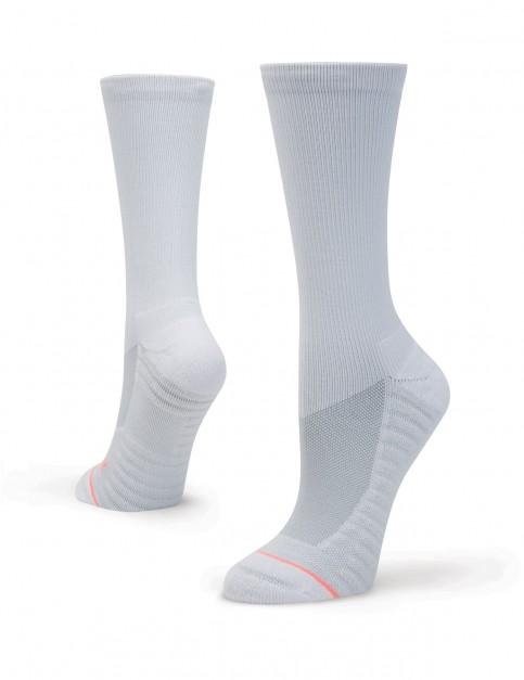 Stance Icon Crew Crew Socks in White