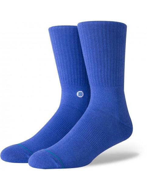 Stance Icon Crew Socks in Royal