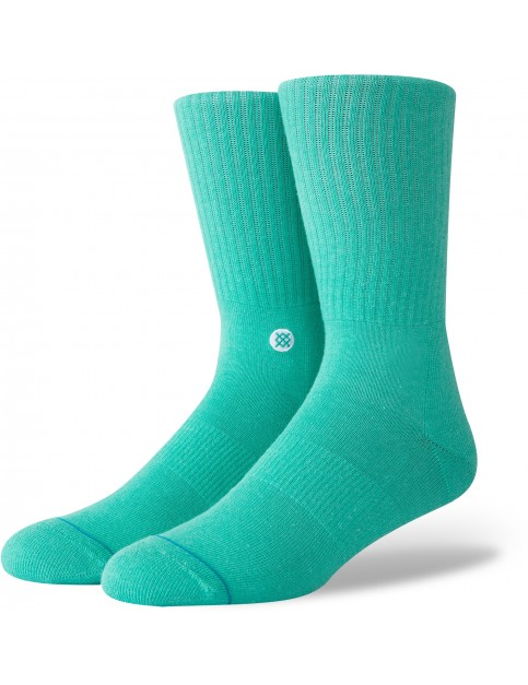 Stance Icon Crew Socks in Teal
