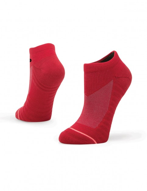 Stance Icon Low Ankle Socks in Red