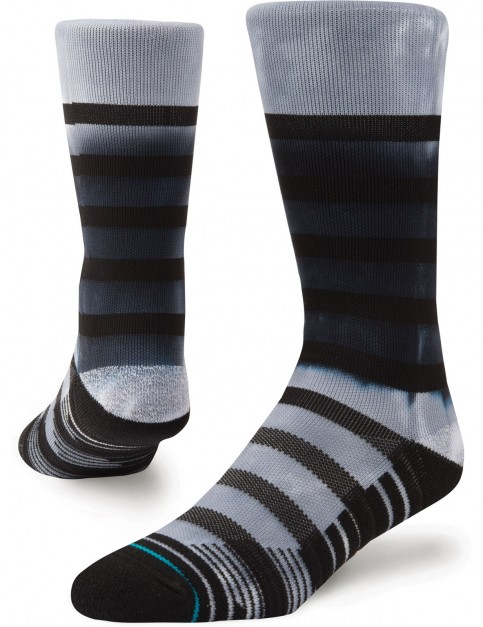 Stance Intercept Crew Crew Socks in Black