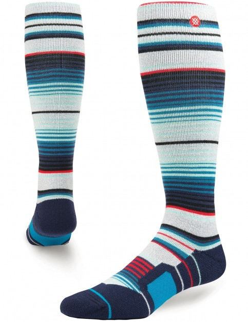 Stance Inyo Snow Socks in Grey Heather