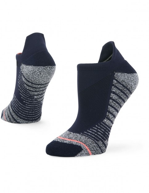 Stance Isotonic Tab No Show Socks in Blue