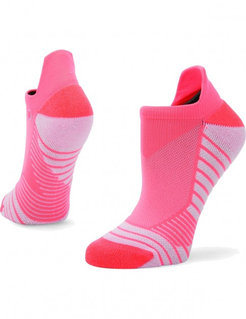 Stance Isotonic Tab No Show Socks in Pink