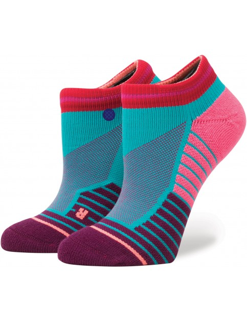 Stance Javelin Low Crew Socks in Turquoise