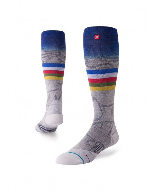 Stance Jimmy Chin Snow Socks in Grey