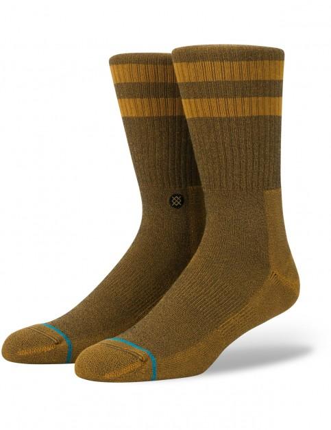 Stance Joven Crew Socks in Amber