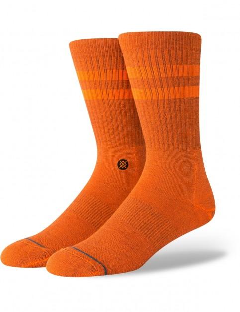 Stance Joven Crew Socks in Orange
