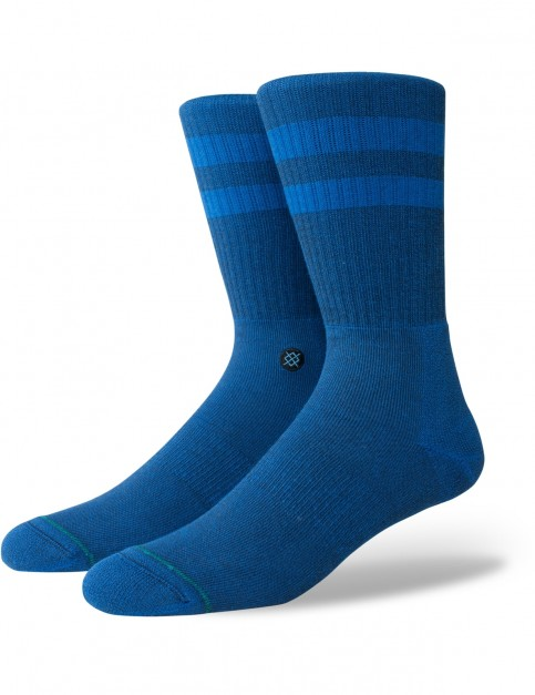 Stance Joven Crew Socks in Primary Blue