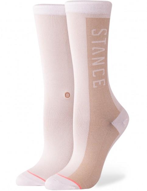 Stance Judge Me Crew Socks in White