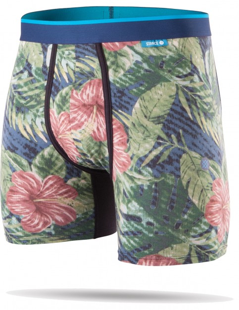 Stance Jungle Floral Underwear in Navy