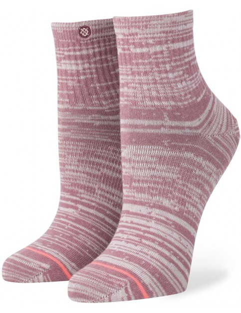 Stance Just Peachy Crew Socks in Pink