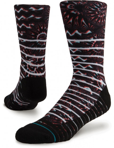 Stance Kaleido Crew Socks in Multi Colour