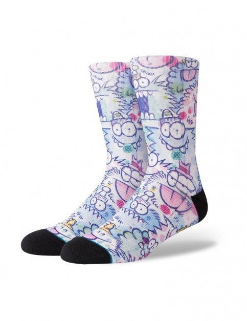 Stance Kevin Lyons Watercolor Crew Socks in Blue
