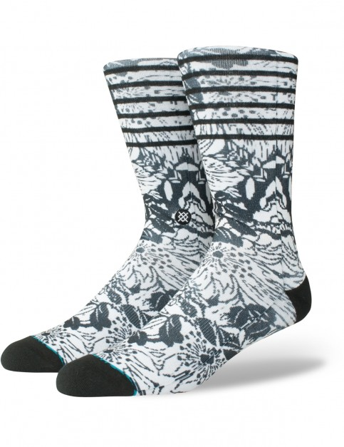 Stance Krane Crew Socks in Black
