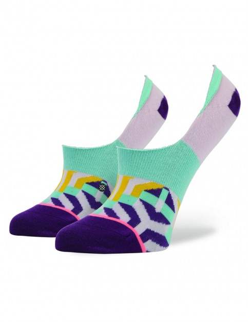 Stance Labrynth Socks in Pink