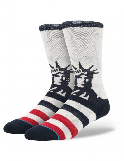 Stance Lady Liberty Socks in White