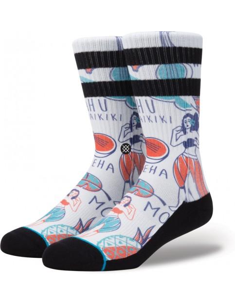 White Stance Lei-Lei Socks