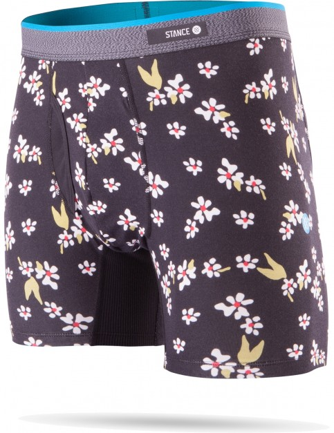 Stance Light Flowers Underwear in Black