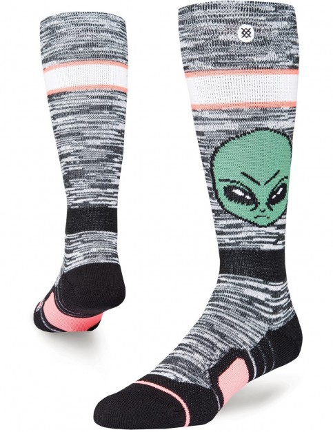 Stance Live Long Snow Socks in Black