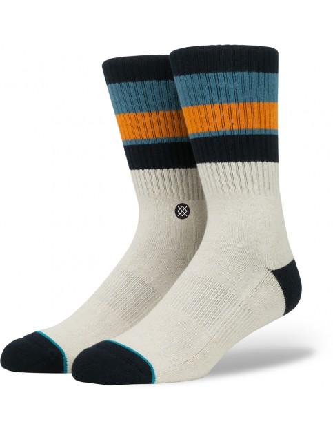 Stance Llama Socks in Navy