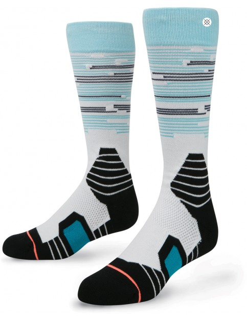 Stance Lone Peak Snow Socks in Light Blue
