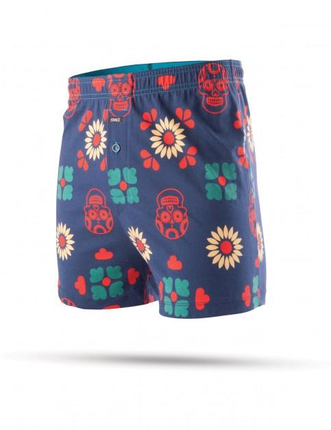Stance Los Muertos Underwear in NAVY