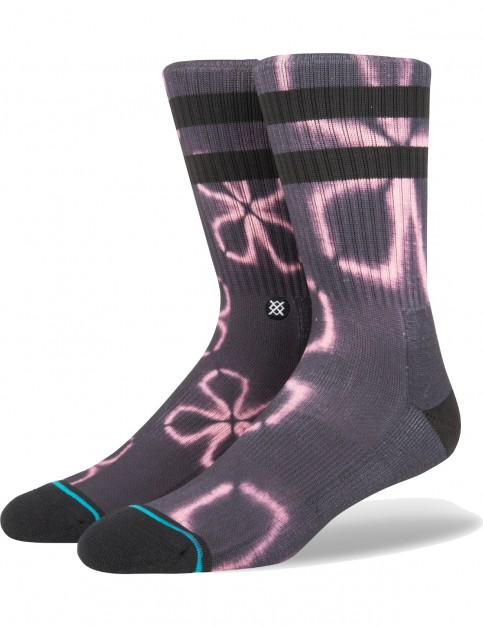 Stance Love Song Crew Socks in Black
